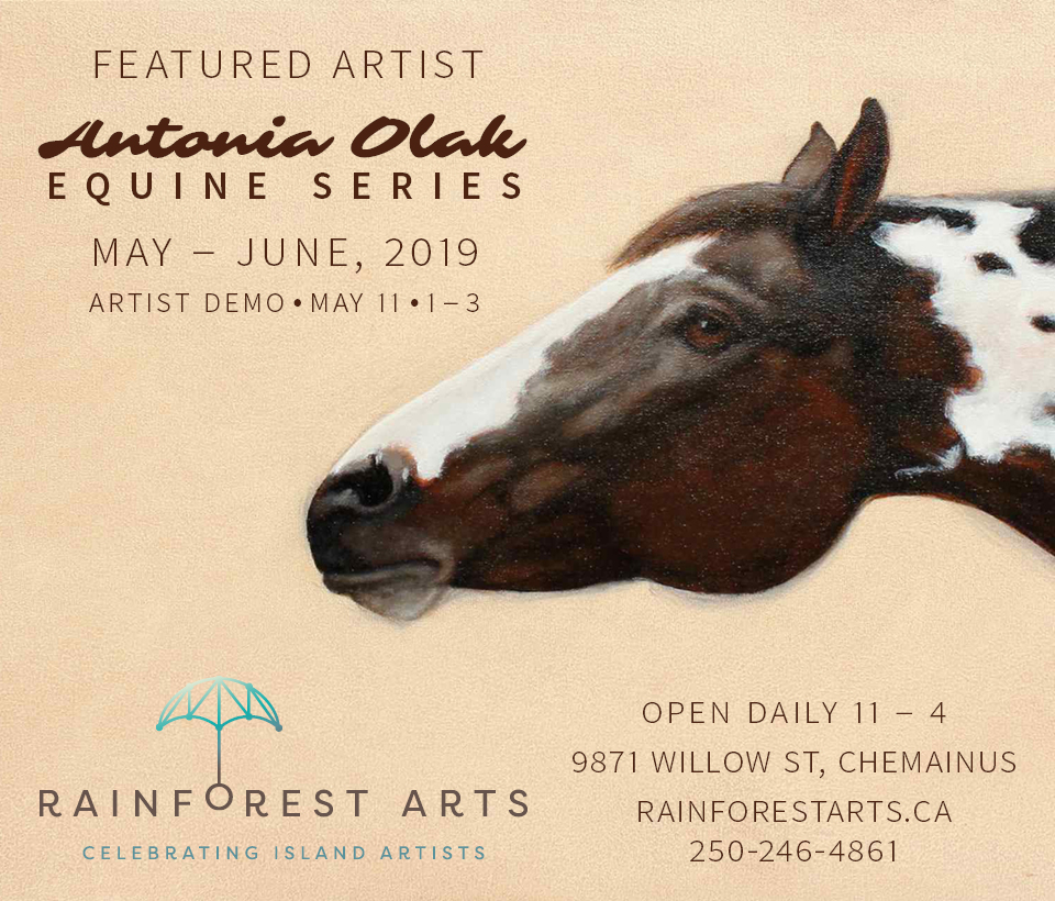 Antonia Olak, Equine Series, Featured Artist May & June, 2019