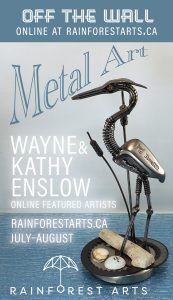 Valley Voice Ad for Wayne & Kathy Enslow online featured artists