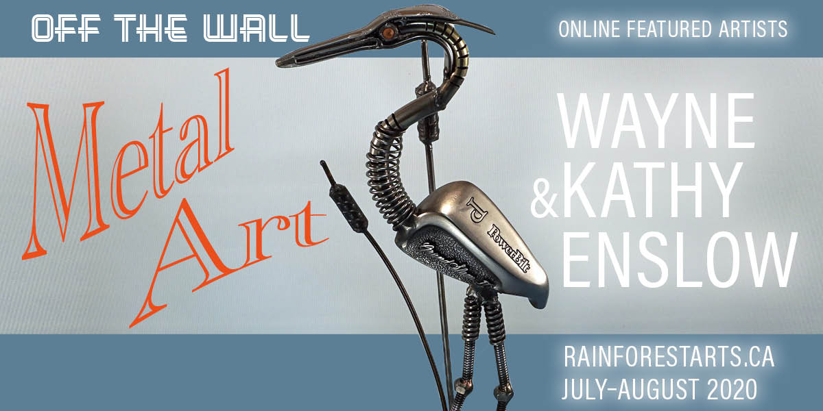 Wayne & Kathy Enslow, Metal Art, Online Featured Artists for July & August, 2020