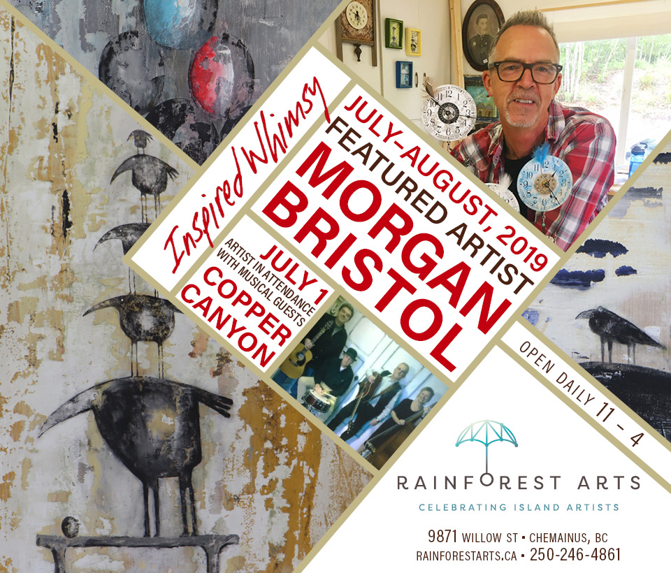 Morgan Bristol, Inspired Whimsy, Featured Artist July & August, 2019